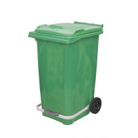 240 Litre Plastik Pedallı Çöp Konteyneri